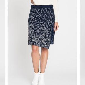 Nic+Zoe renew faux wrap skirt